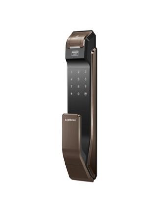 Замок дверной Samsung SHS-P718(на себя) XBK/EN