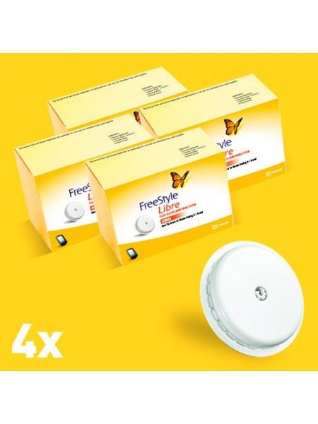 Freestyle Libre сенсор x4