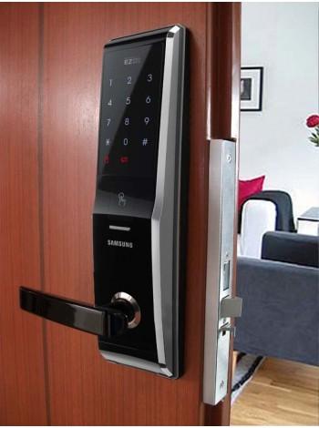 Врезной биометрический замок Samsung SHS-H700